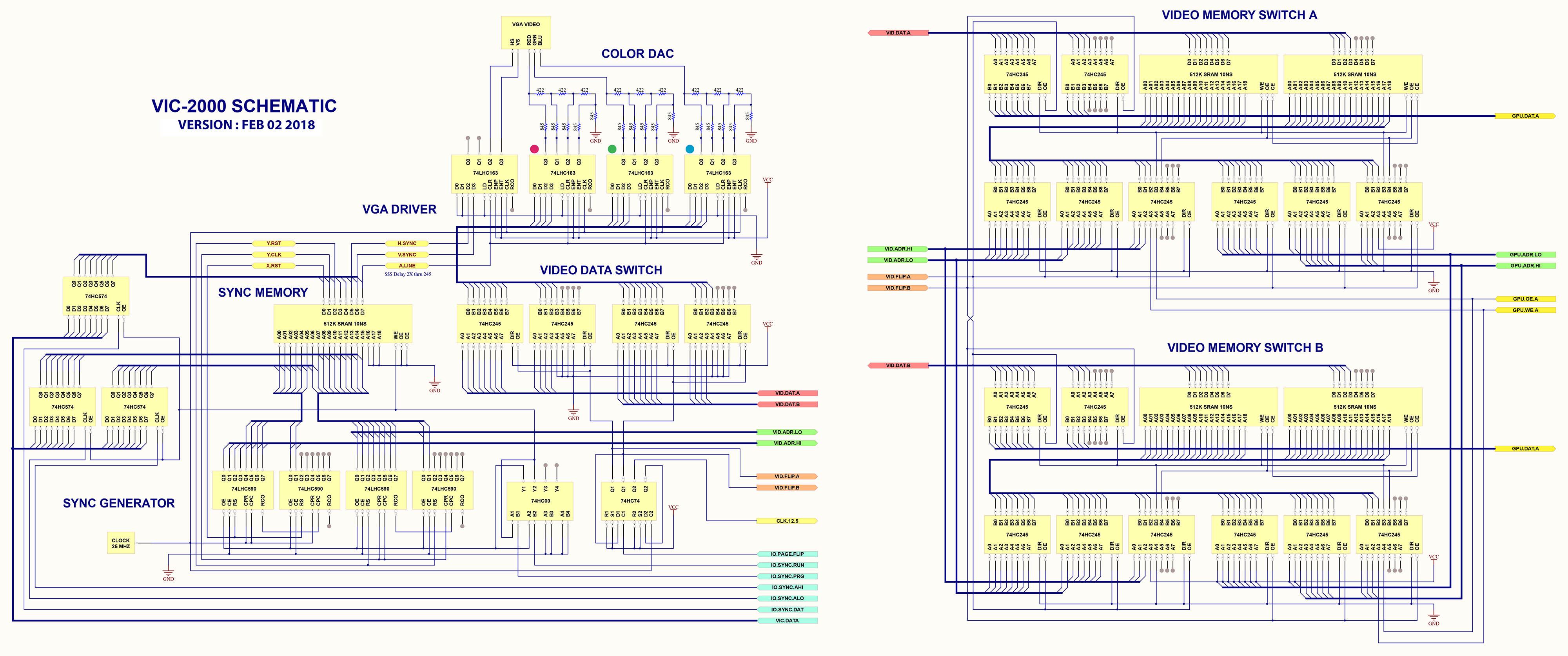 VIC-2000 Expander  Modern Power Using Retro Parts! - Page 10 - Denial